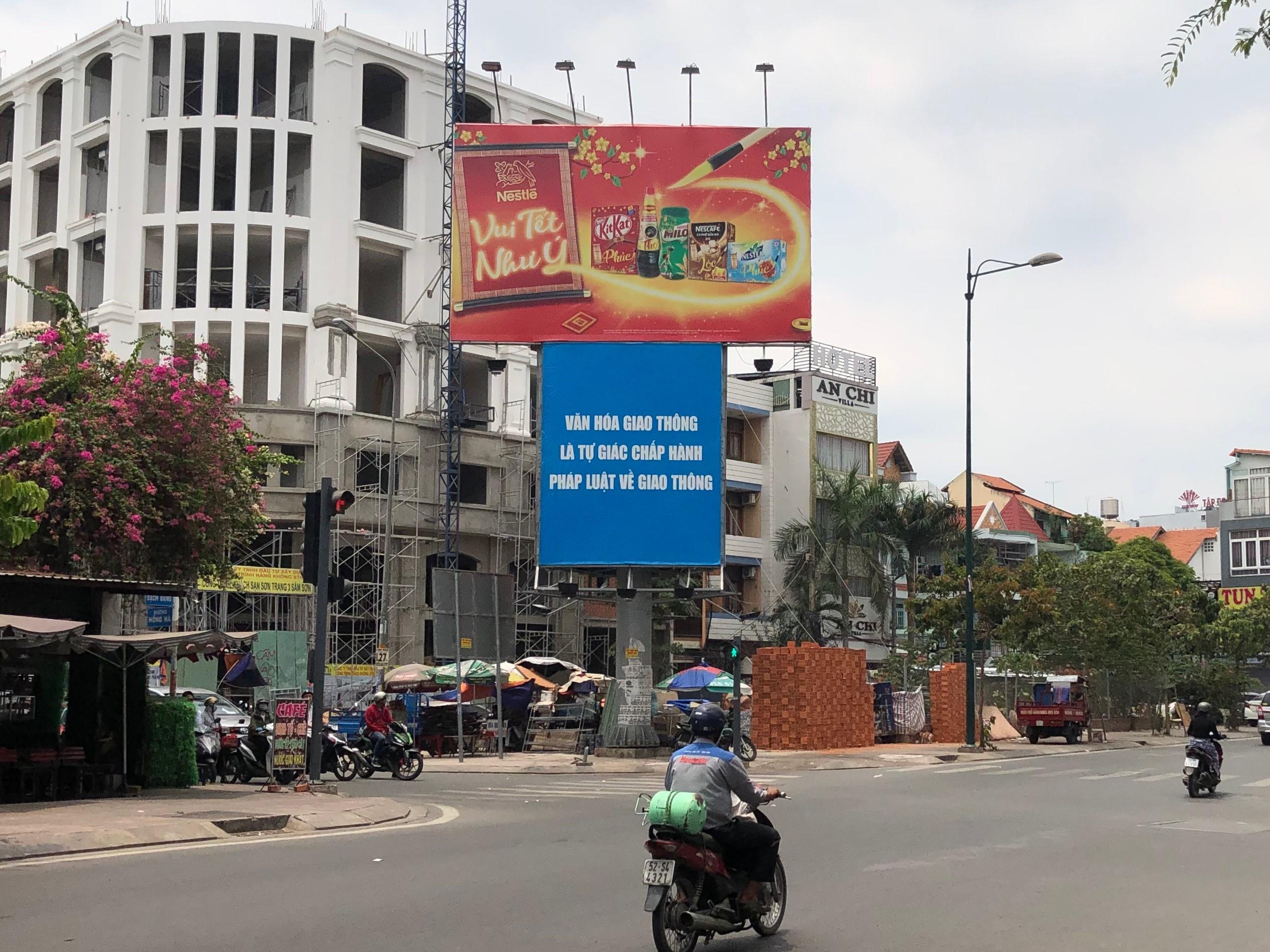 ベトナムでのパネル・看板広告