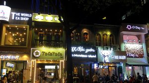 サイゴンの「バブルティータウン」
